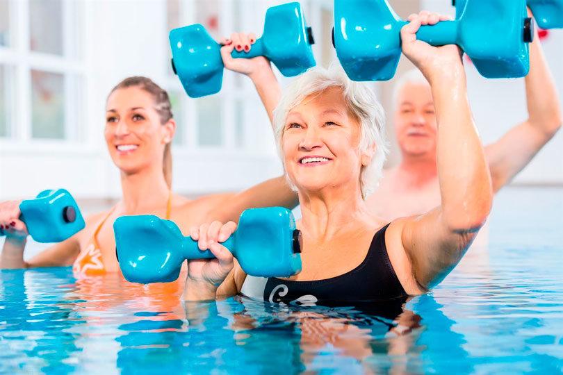 Exercícios para fazer na piscina