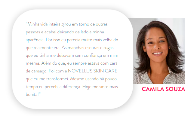 Novellus Skin Care depoimento