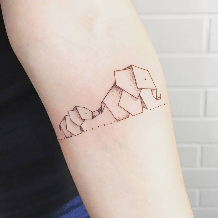 Elephant Mandala Tattoo Tattoos T Tatuajes Elefantes Y: Tatuagens De Mãe E Filha: 100+ Ideias E Seus Significados