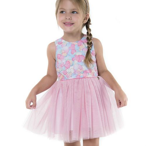 fec375d56 A parte de baixo dos vestidos geralmente é confeccionada nesse tecido que  garante volume, leveza e um certo toque lúdico que as crianças adoram. Veja  do que ...