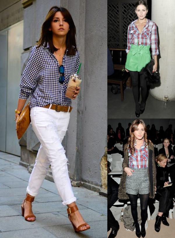Camisa xadrez feminina 15 looks com e dicas para vestir tudo ela look com camisa xadrez feminina e casaco thecheapjerseys Choice Image
