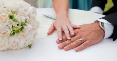 Superstições de casamento