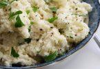 Como fazer arroz de couve-flor