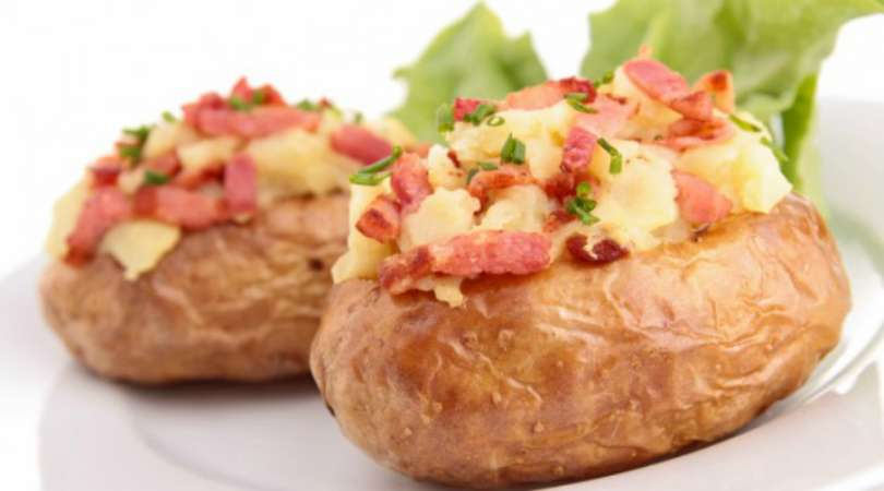 Como fazer batata recheada com calabresa