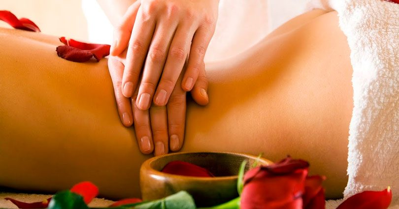 Massagem californiana Esalen