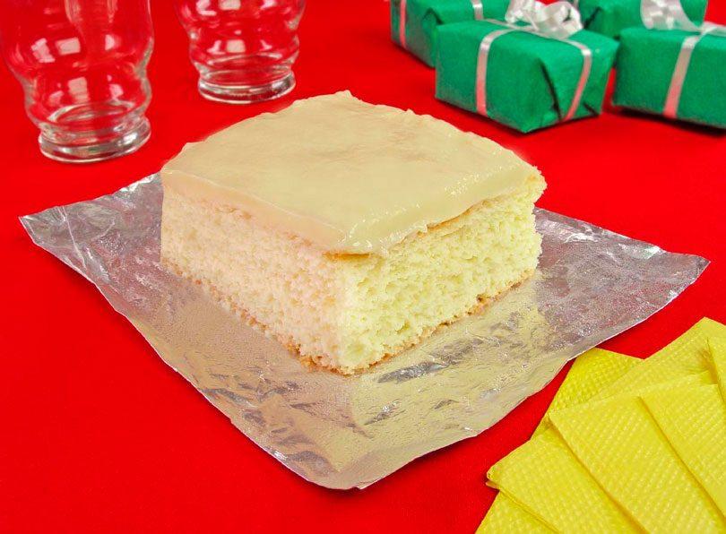 Receita de bolo de leite condensado