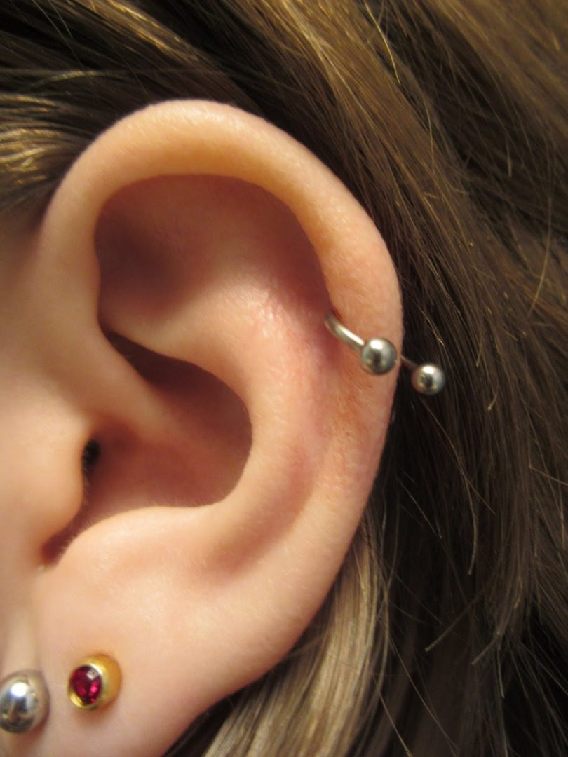 Piercing no helix