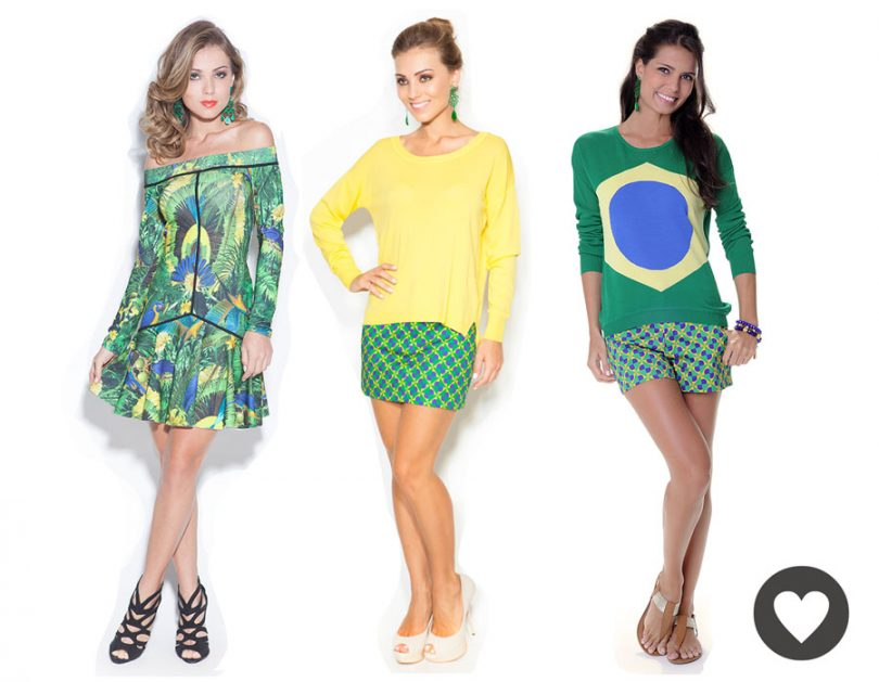 Ideias de Looks para copa do mundo