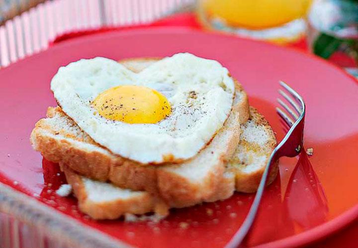 Receita pão com ovo