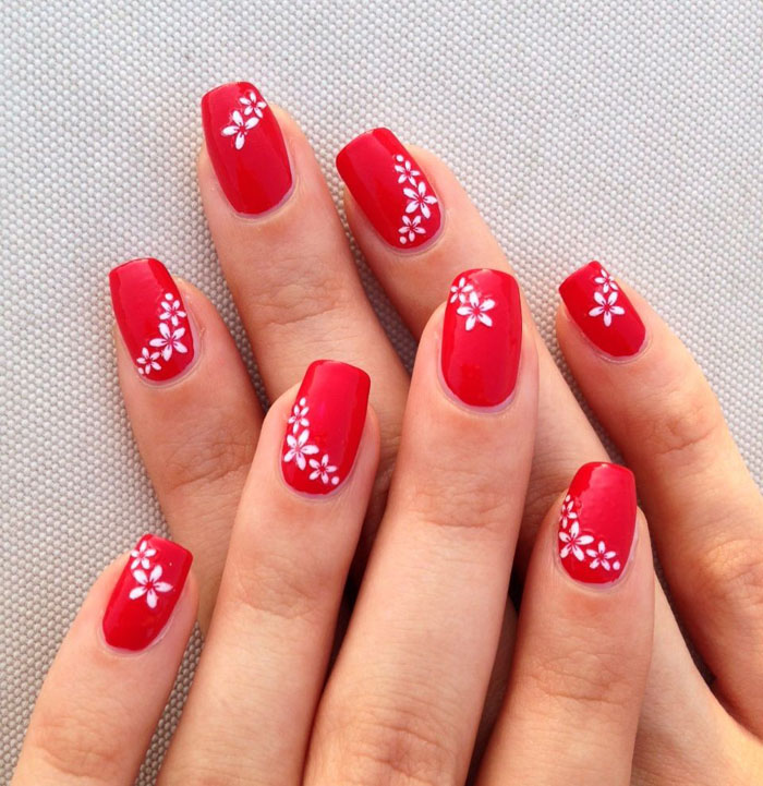 Unhas vermelhas decoradas dicas e inspirações! -> Decoracao Unhas Vermelhas