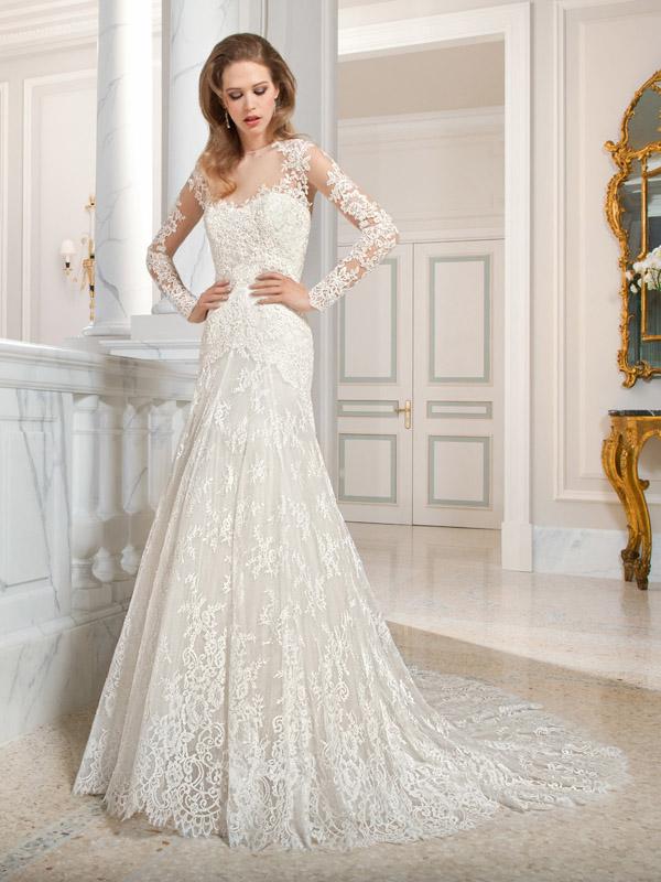 Vestidos de noiva com renda
