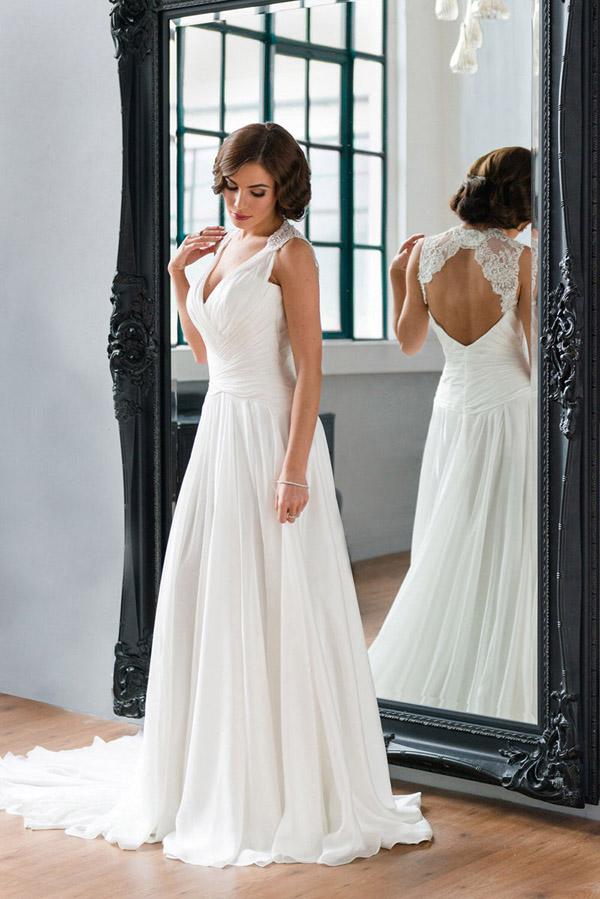 Vestidos de noiva simples e baratos