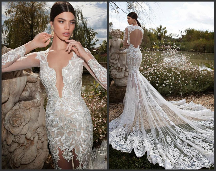 Vestidos de noiva sexy