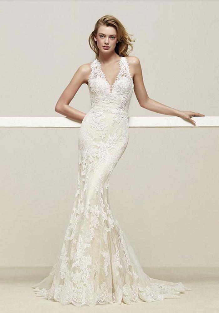 Vestidos de noiva off white