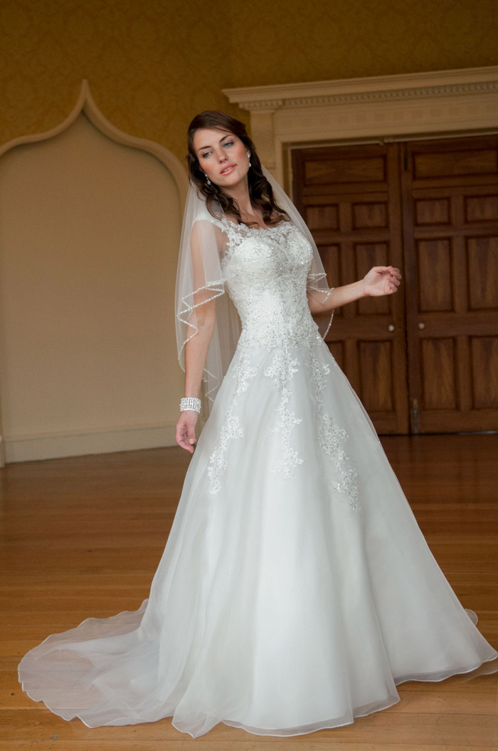 Vestidos de noiva para casamento de dia