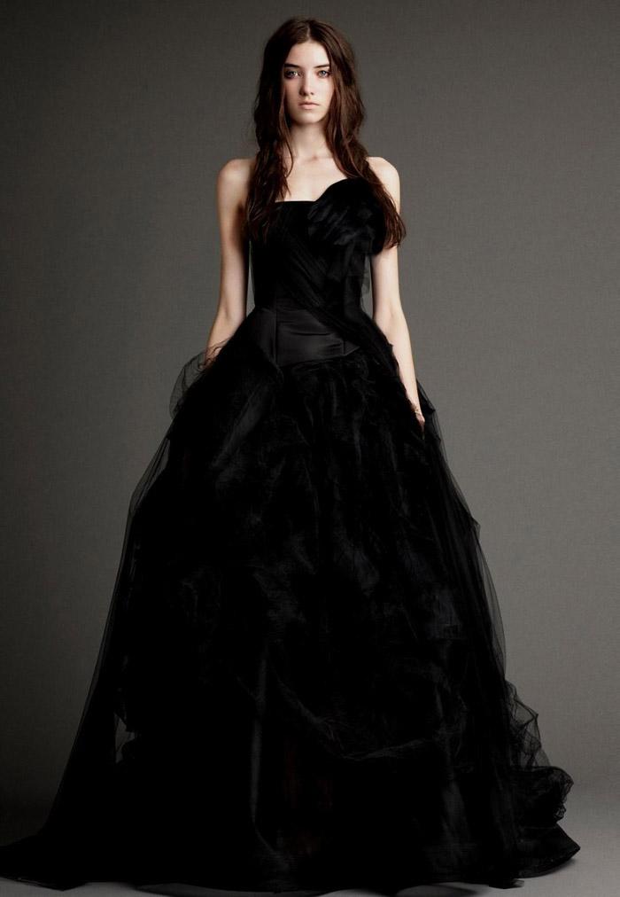 vestido de noiva preto 12 modelos e ideias para usar