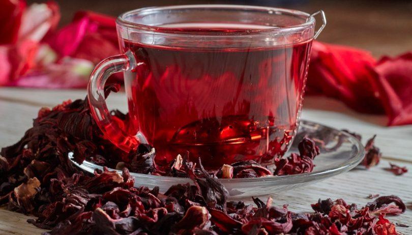 Resultado de imagem para chá de hibisco