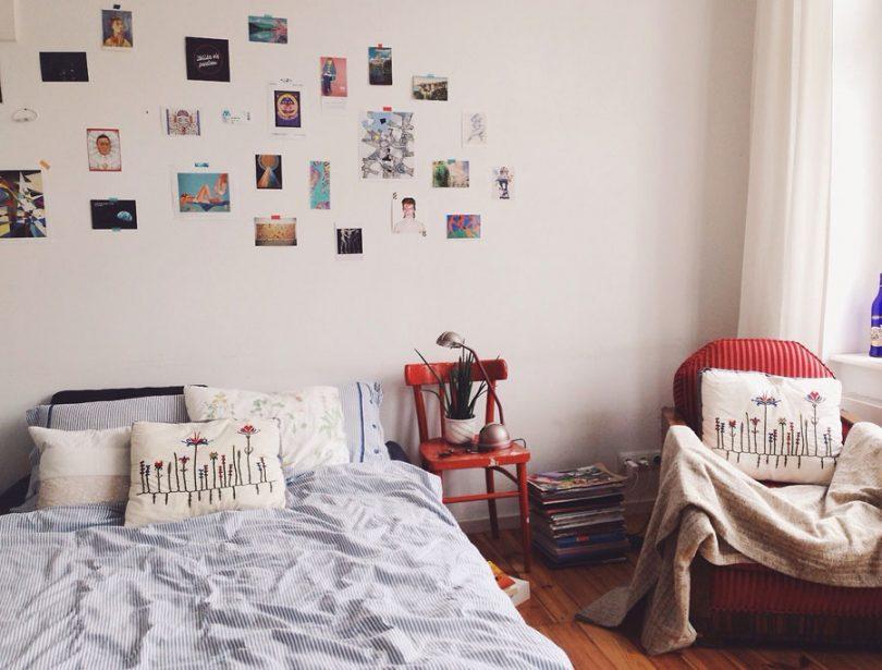 Dorm Room Inspiration Grey