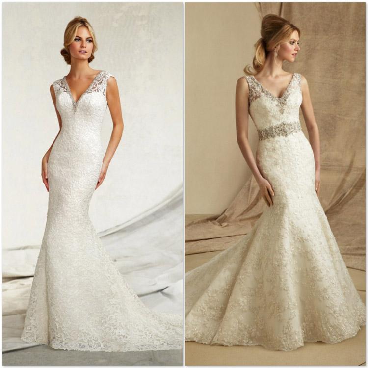 Tipos de decote para vestido de noiva