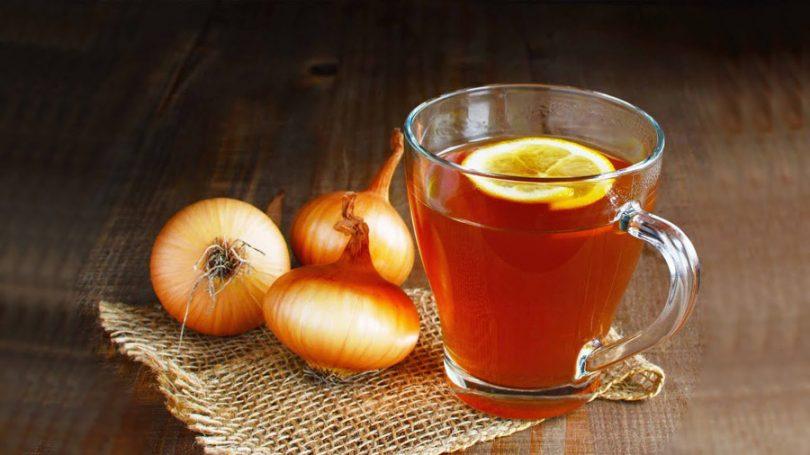 Resultado de imagem para chá de cebola