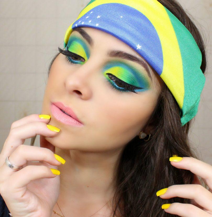 Maquiagem para a Copa do Mundo