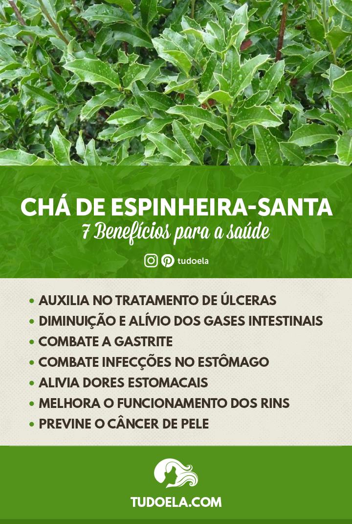 Chá de Espinheira-Santa