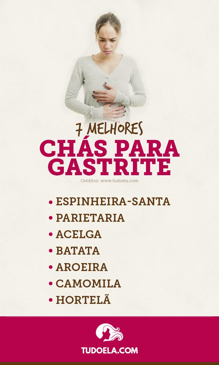 Chás para Gastrite: confira os 7 melhores [Infográfico]