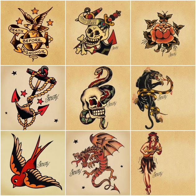 Tatuagem Old School Origem Desenhos E Significados Para Se