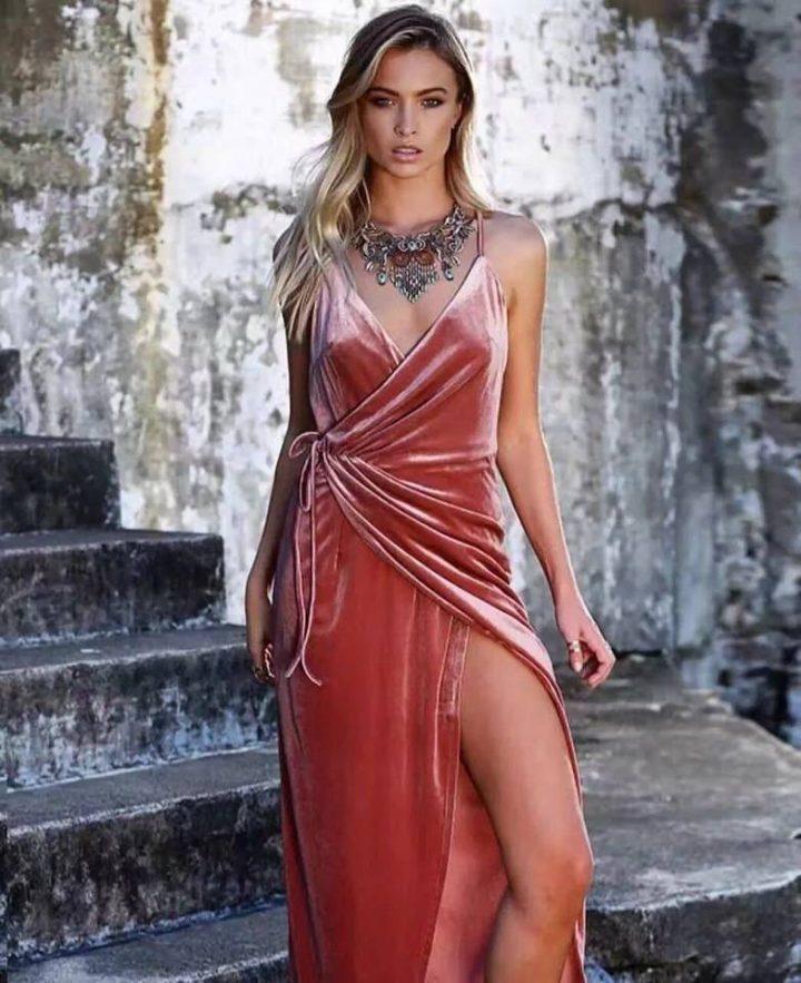 Looks Com Vestido De Veludo Confira Dicas Fotos Para Se
