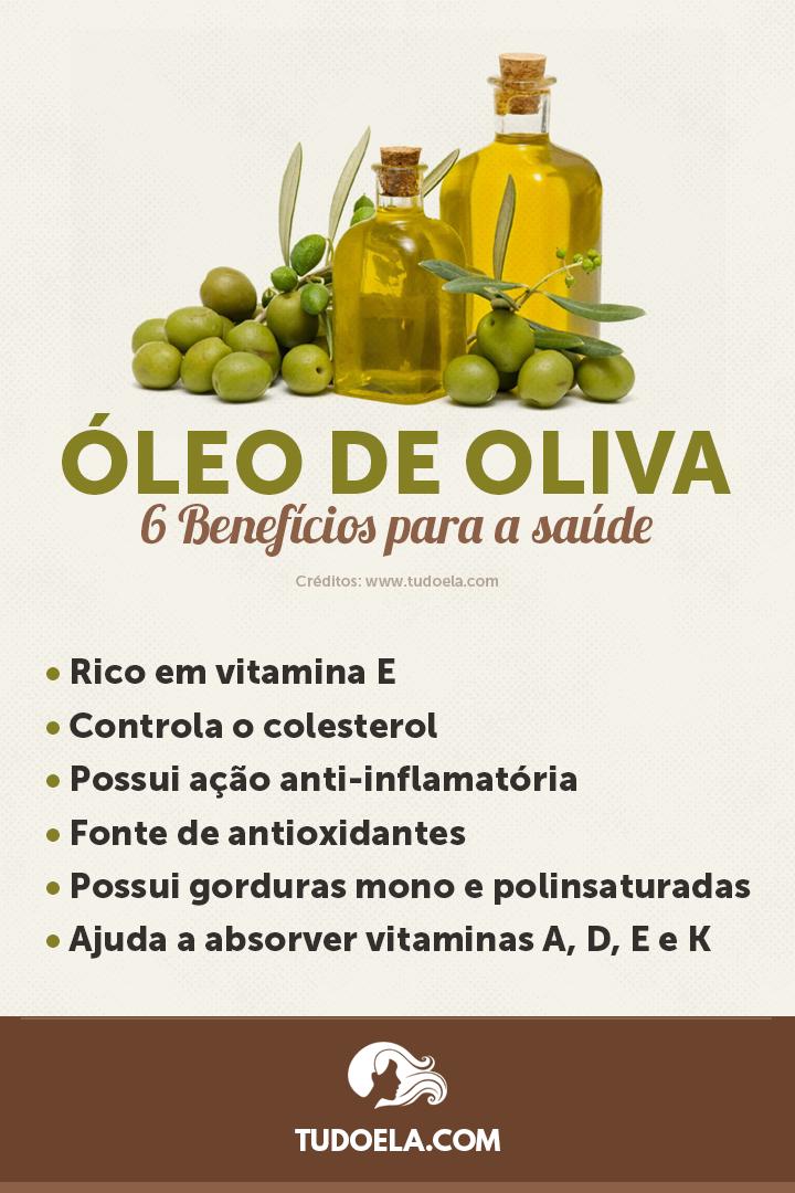Óleo de Oliva: 6 benefícios para a saúde [Infográfico]
