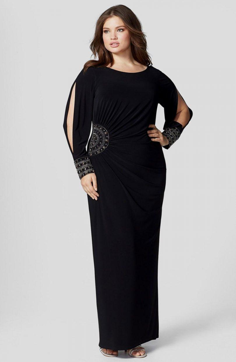 8f18427826 Looks com vestido longo para gordinhas (plus size) - Tudo Ela