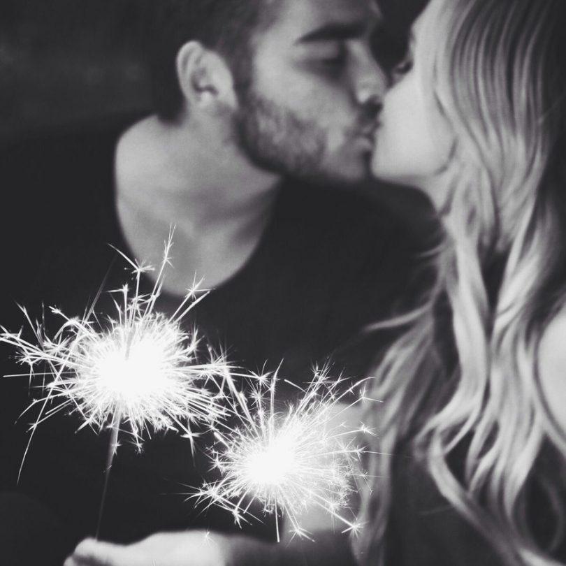 Mensagens de Ano Novo para o namorado