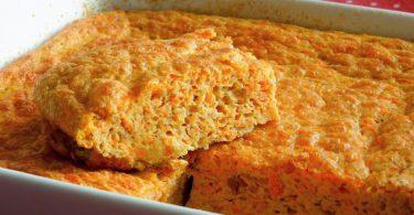 Receitas de suflê de cenoura