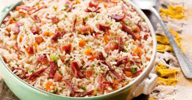 Como fazer arroz carreteiro
