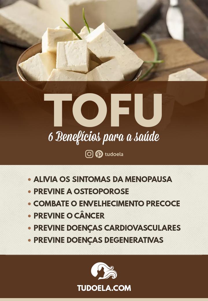 Tofu: 6 benefícios para a saúde [Infográfico]