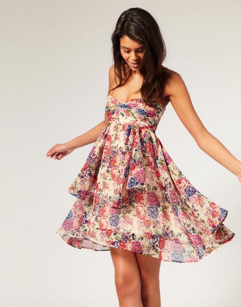 Vestido florido é a cara dos dias quentes que estamos vivendo! c3706723831