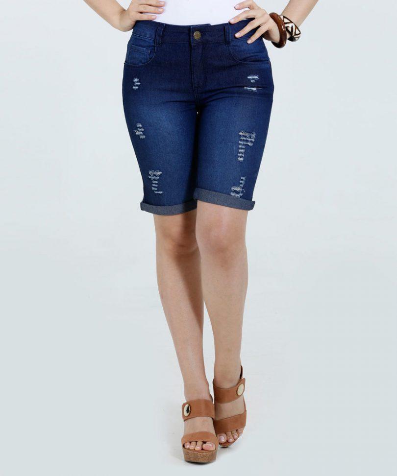 Bermuda jeans feminina  arrase com essa peça + 14 fotos lindas 5db6ae087295c