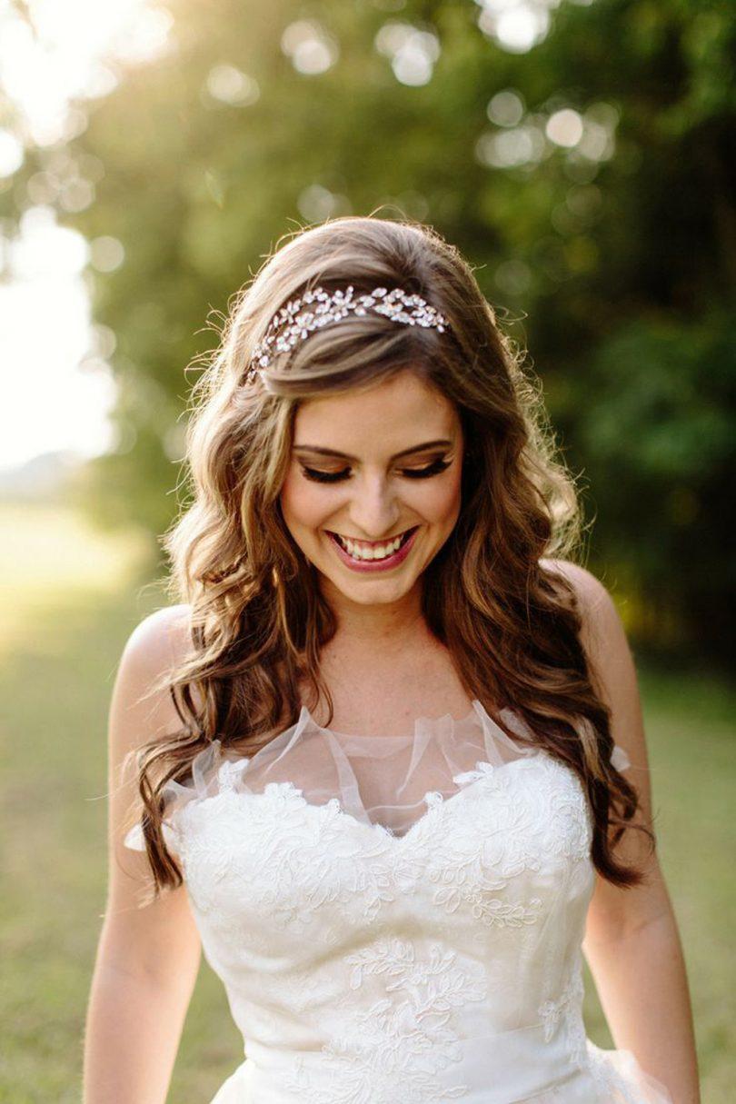 6 Penteados Para Noivas Com Cabelos Soltos Tudo Ela
