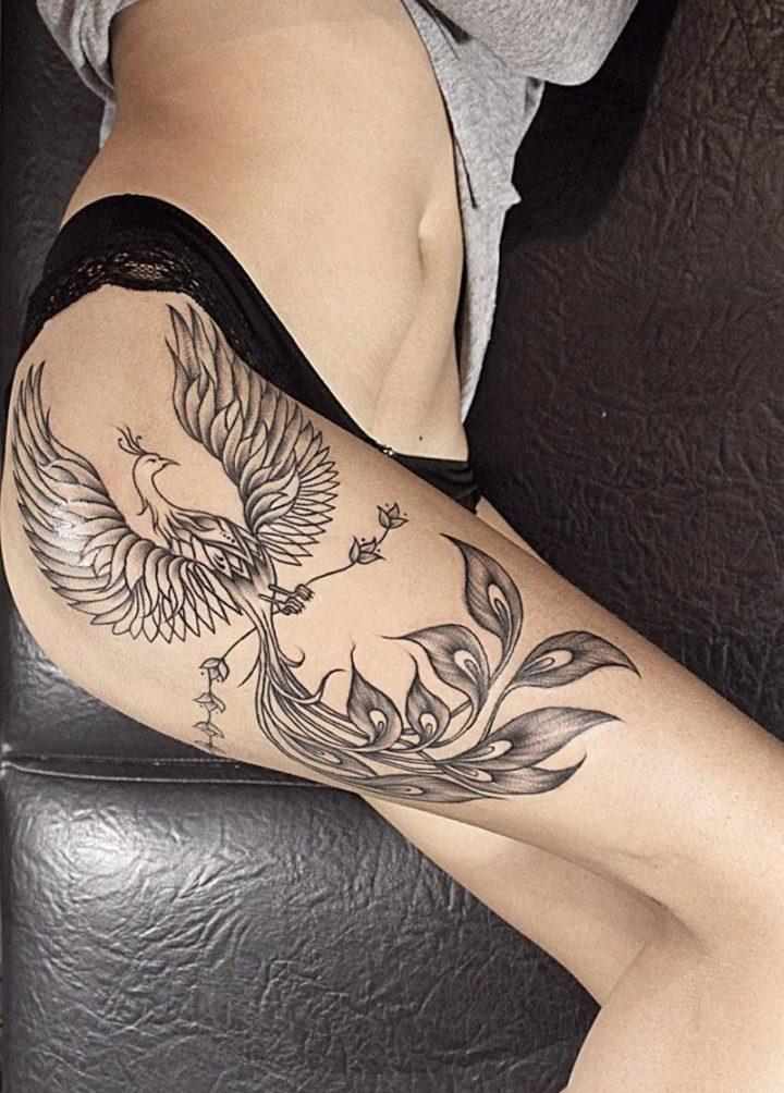 Tatuagem Da Fenix Significado Estilos E Dicas Para Se Inspirar