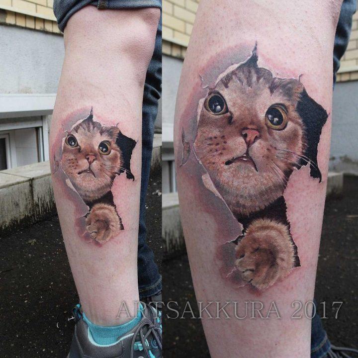 Tatuagem De Gato: Descubra O Significado E Veja Os Estilos