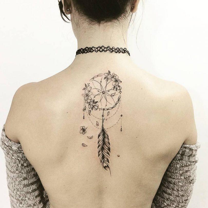 Tatuagem De Filtro Dos Sonhos Significado Estilos E Dicas