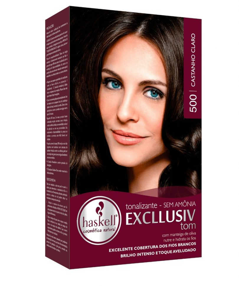 Tonalizante cobre cabelo branco?