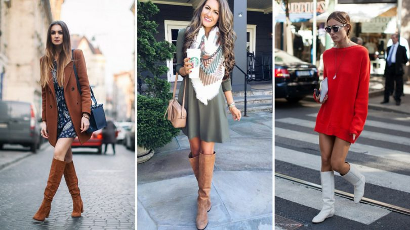 f8b14cc91 O vestido com bota envolve combinações que geram dúvidas em muitas mulheres  e