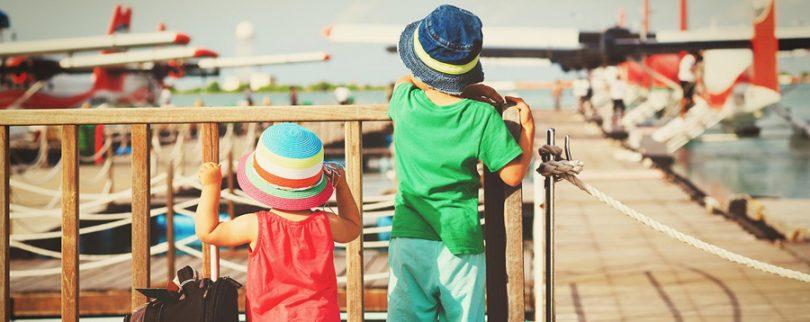 Melhores lugares para viajar com crianças