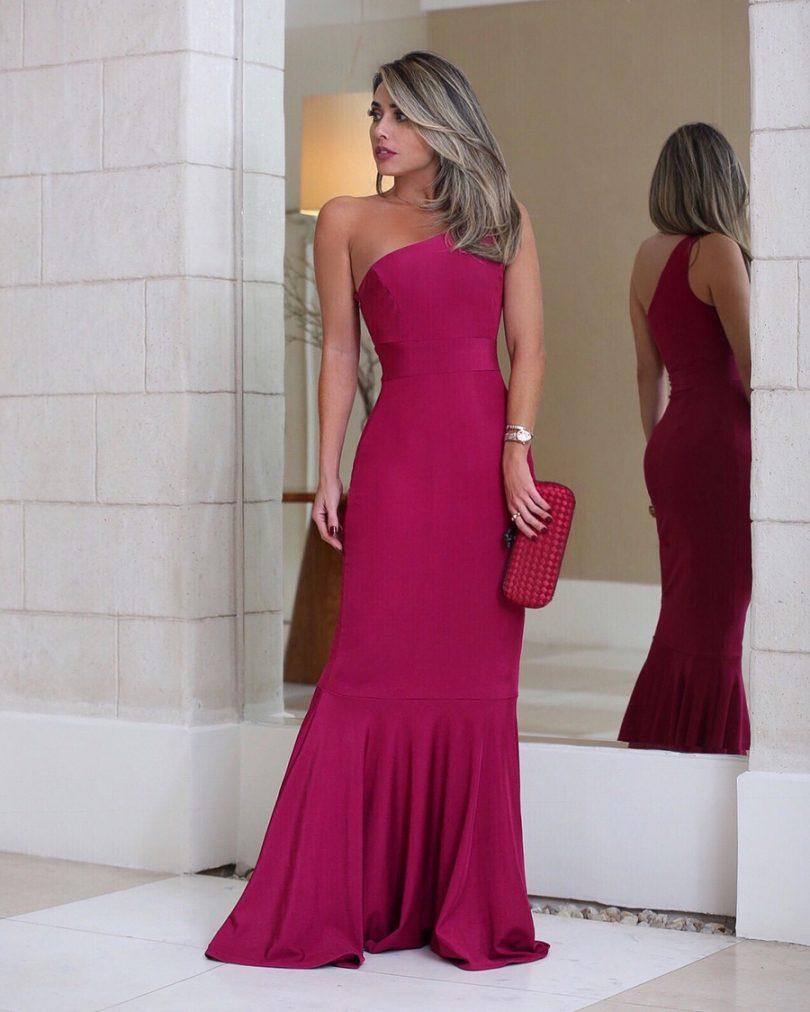 Vestidos de madrinha rosa