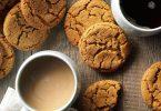 Biscoitos macios de gengibre