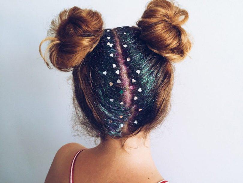 Como tirar Glitter do cabelo e da pele