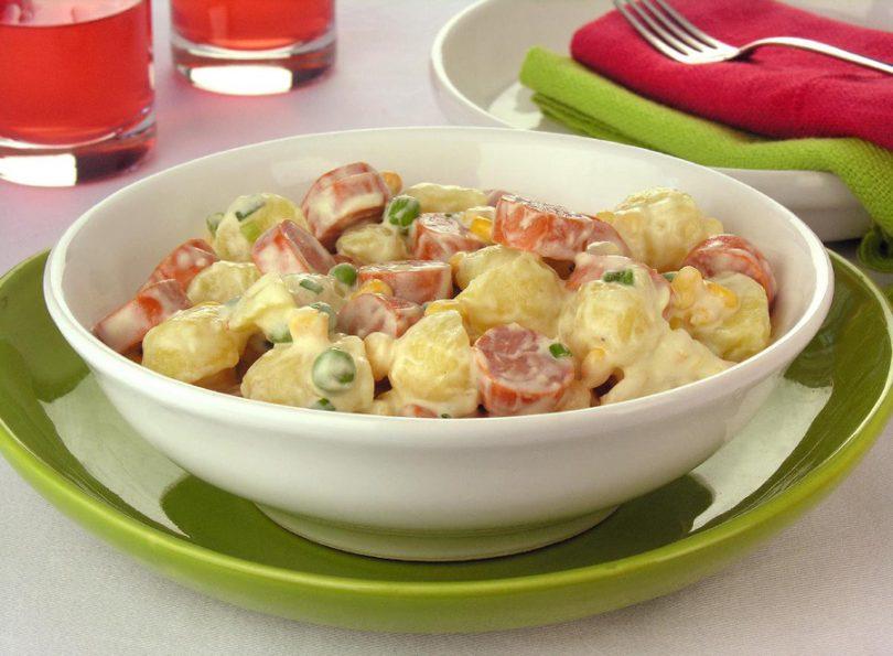 Receitas de salada de batata