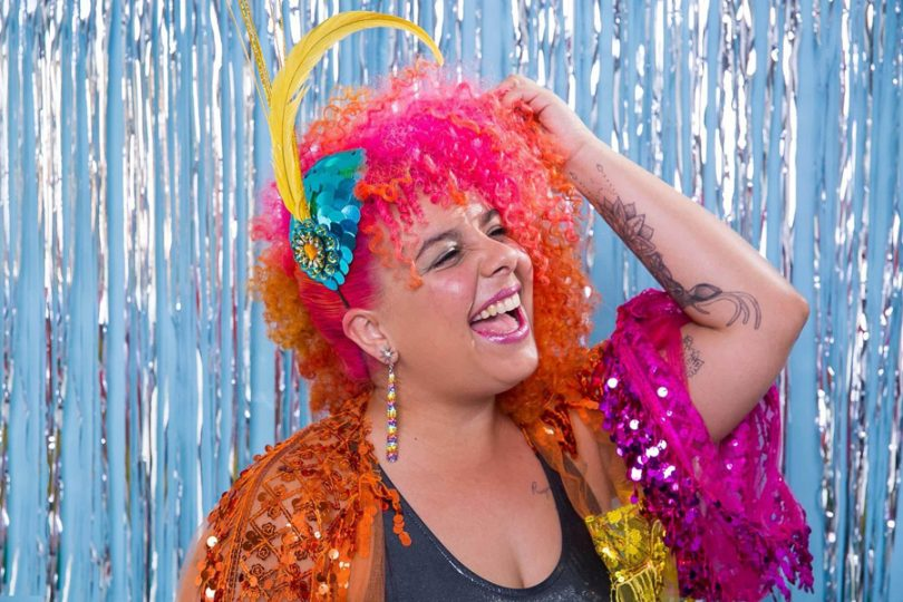 Tinta spray para o cabelo no Carnaval