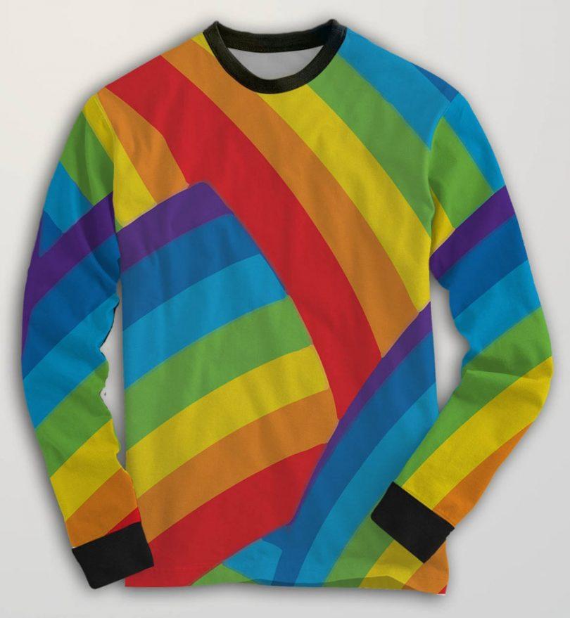 Estampa arco-íris